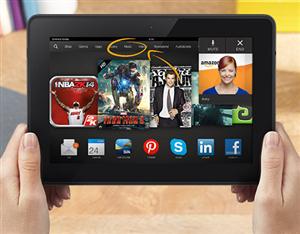 Amazon Fire OS 3.0