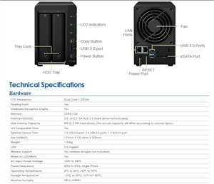 Synology DS214