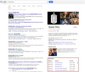 Google séries TV