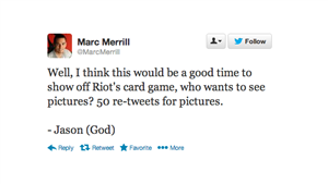 Marc Merrill Twitter Hack