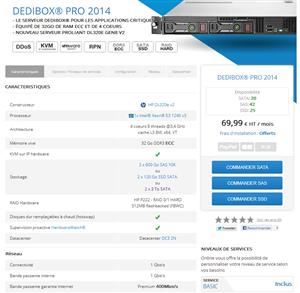 Online Dedibox Pro 2014