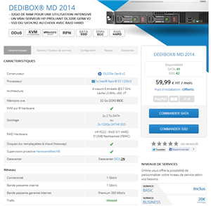 Dedibox MD 2014