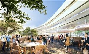 apple campus mothership