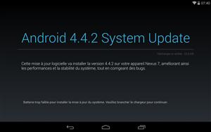 Android 4.4.2 Nexus 7 2013
