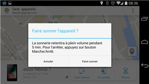 Android Device Manager application