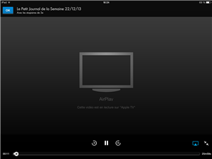 AirPlay Canal Application iOS