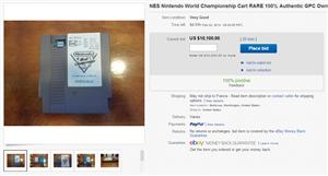 Nintendo World Championship eBay