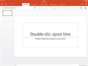 powerpoint office ipad