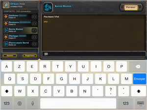 Heartstone iPad