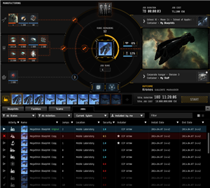 Eve Online industrie