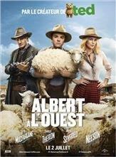 Albert à l'ouest affiche