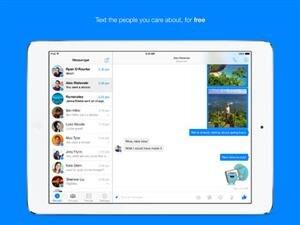Facebook Messenger iPad