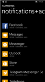 windows phone 8.1 centre notifications