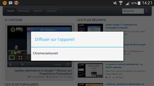 Chromecast Firefox Android