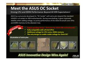 ASUS X99 OC Socket