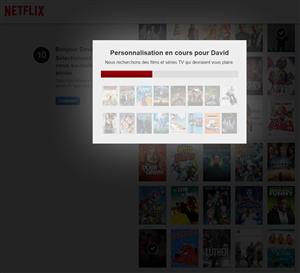 Netflix Personnalisation