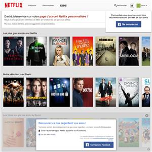 Netflix Accueil