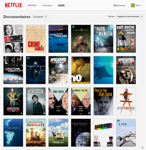 Netflix Catalogue