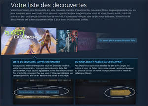 Steam Discovery Update