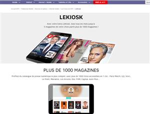 SFR LeKioske Presse