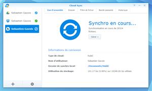 DSM 5.1 Cloud Sync