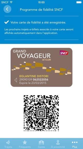 SNCF application universelle