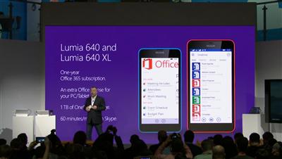 Microsoft Lumia 640 MWC