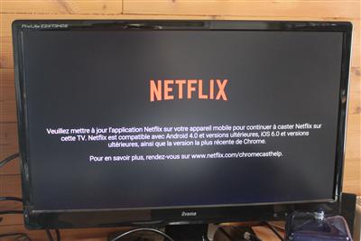 Netflix Freebox mini 4K Android TV