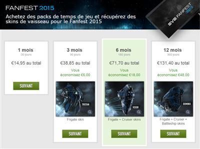 Eve Online Tarifs