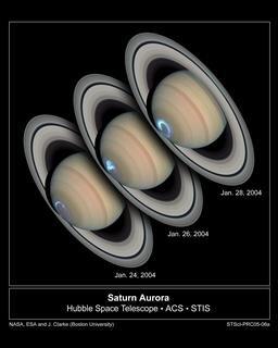 Hubble Saturne