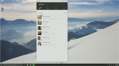 WeChat Windows 10