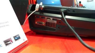 MSI Computex GPU Externe