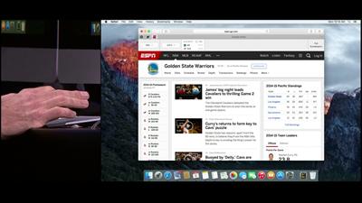 Apple WWDC OS X Epinglage Safari