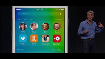 Apple WWDC Siri bureau