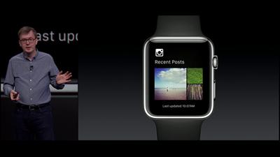 Apple WWDC Watch Photos récentes