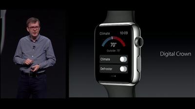 Apple WWDC Watch OS 2 molette