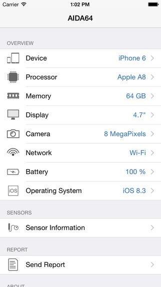 AIDA64 iOS