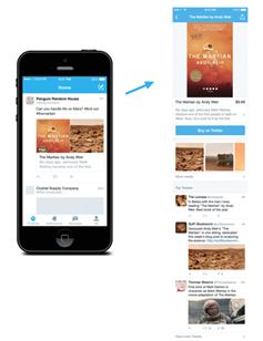 Twitter vente en ligne