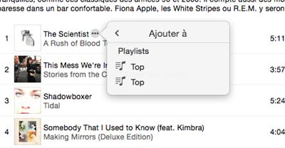 Apple Music Musique