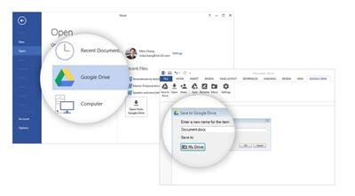 Google Drive Office Extension