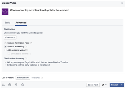 Facebook Video Outils