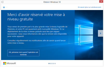Windows 10 File d'attente