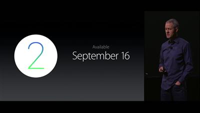 Apple conférence 9 septembre