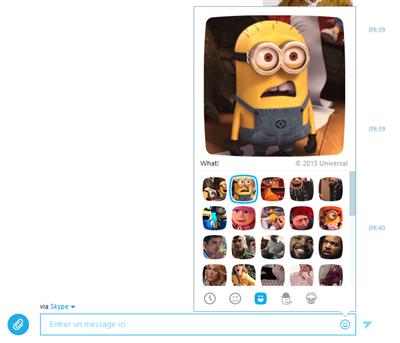 Mojis Skype