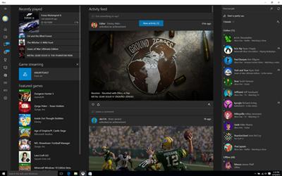 Xbox App Septembre