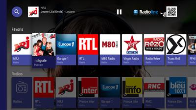 Radioline Android TV