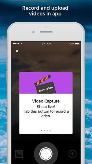 Dailymotion iOS