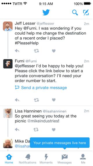 Twitter Service Client
