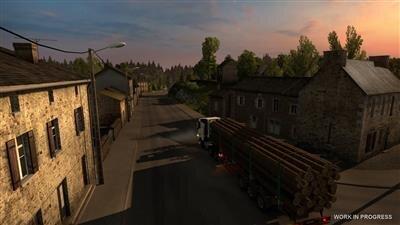 Euro Truck Simulator 2 France