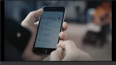 Volvo clé application mobile